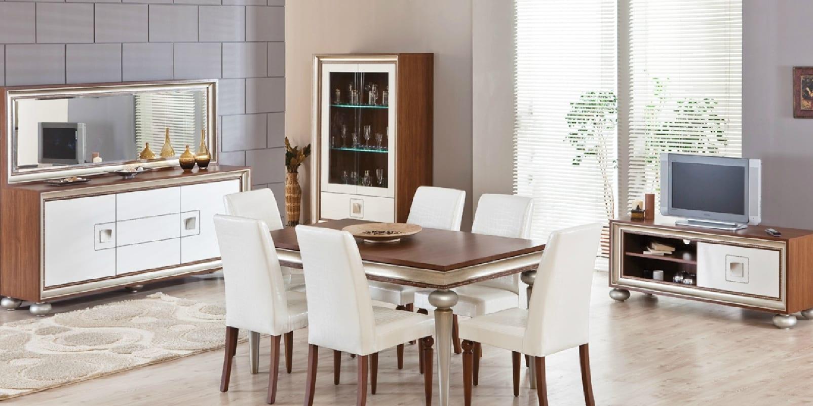 ALDORA modern yemek odasi modelleri