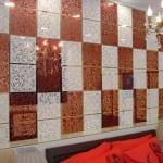 Renkli dekoratif panel