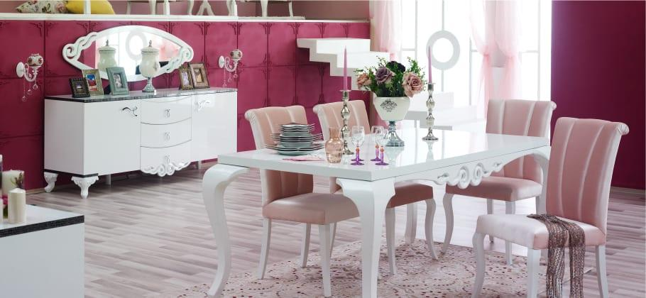 aldora mobilya arya yemek odasi
