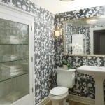 banyo icin vinil duvar kagıdı modelleri
