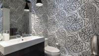 Banyolarda Yeni Trend Vinil Duvar Kağıtları 2015