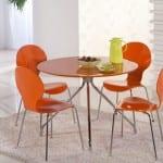 bolero turuncu mutfak masa takimi