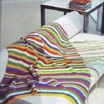 cizgi desenli el orgusu battaniye modeli