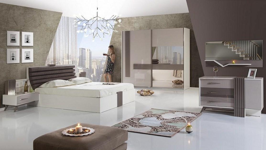 cizgi mobilya yatak odasi modelleri
