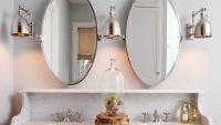 Dekoratif Yeni Moda Banyo Aynası Modelleri 2015