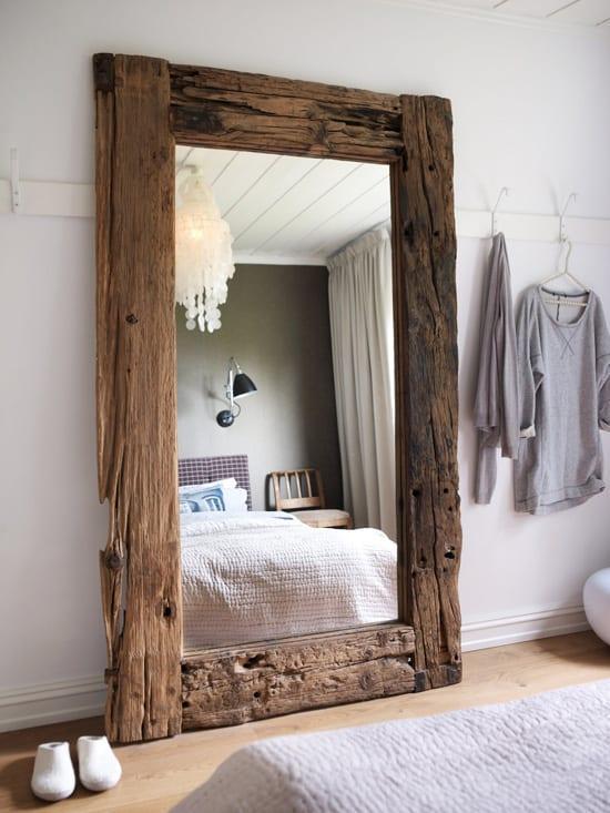 dekoratif buyuk boy yatak odasi aynasi