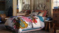 Etnik Desenli En Güzel Yatak Örtüsü Modelleri 2015