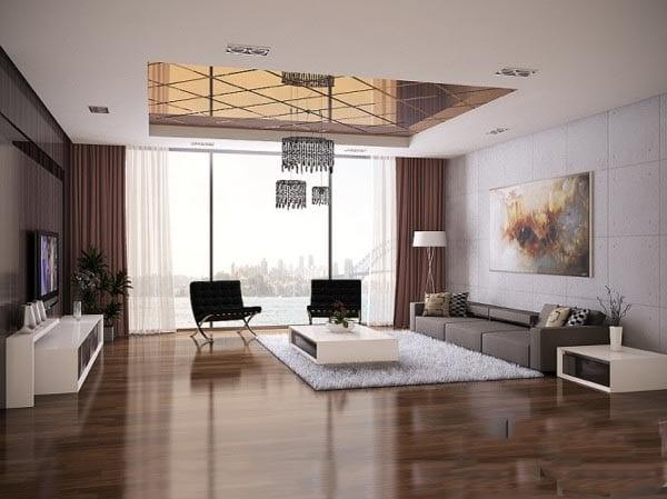 Etkileyici Modern Salon Dekorasyonu Dekorstyle