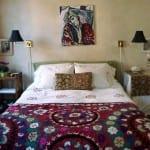 etnik yatak ortusu tasarimlari