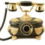 ev aksesuari antika telefon modelleri