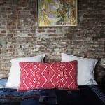 ev tekstili etnik desenler