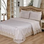 evlen ebrari dantel yatak ortu