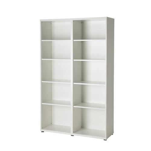 ikea beyaz kitaplik modeli
