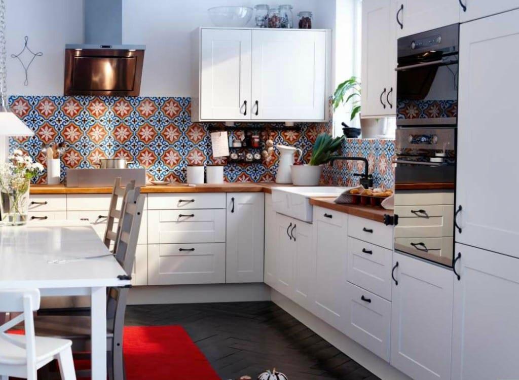 Ikea beyaz mutfak dekorstyle - Conforama tappeti ...