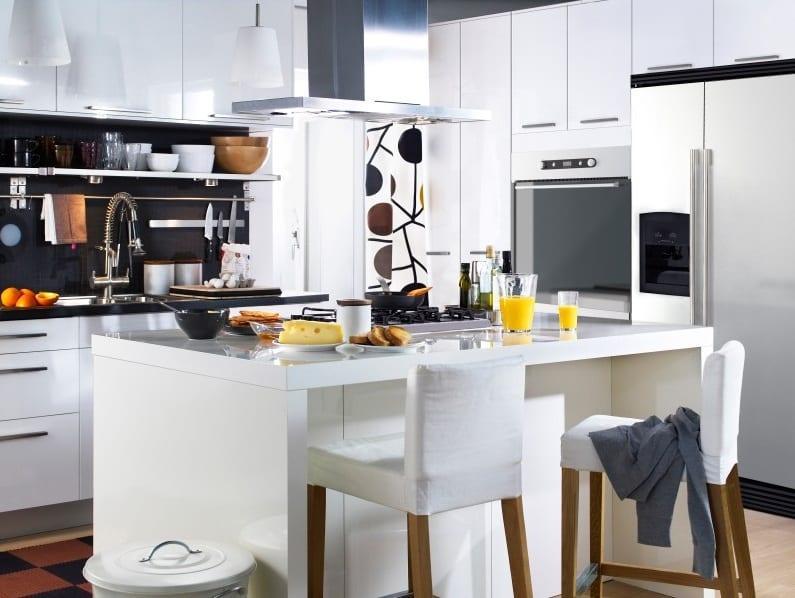 ikeayeni moda beyaz mutfak modelleri