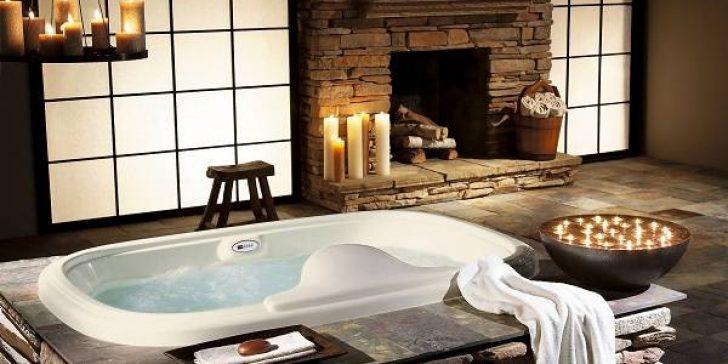 Banyolara Romantik Dekorasyon Önerileri