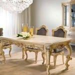 klasik yemek odasi modelleri