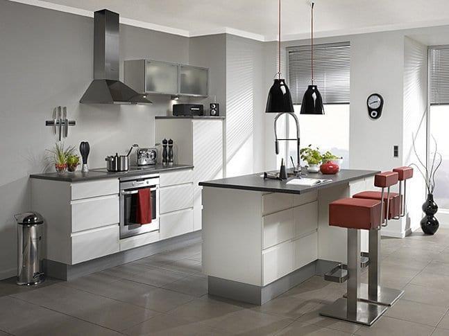 kucuk modern italyan mutfak modelleri