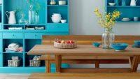 Mutfaklarda Eski Dolaplı Nostaljik Dekorasyonlar 2015
