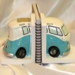 minibus kitap tutucu