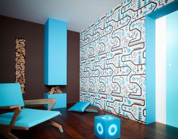 modern duvar kagidi modelleri