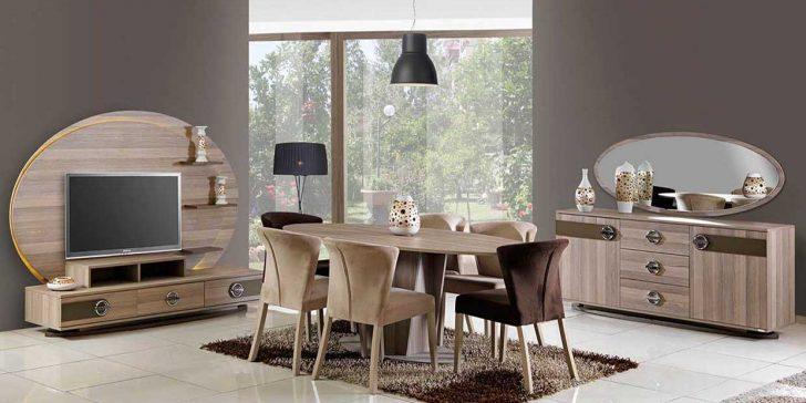 Yeni Trend Çizgi Mobilya Yemek Odası Modelleri 2015