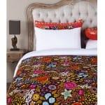 otantik desenli yatak ortusu modelleri