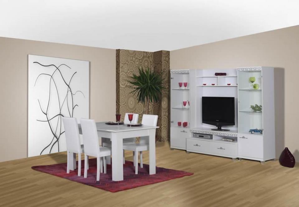 panello modern yemek odasi modelleri