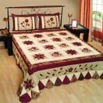 patchwork yatak ortu tasarimlari