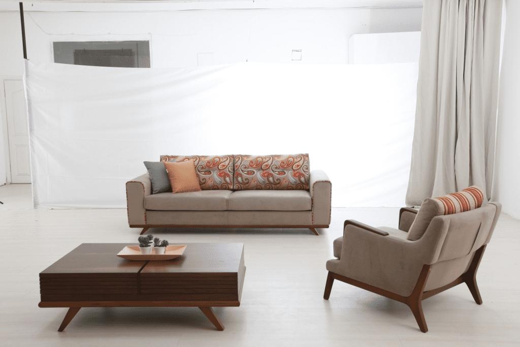 retro tarzi modern koltuk takimi