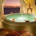 romantik tarz banyo dekorasyonu