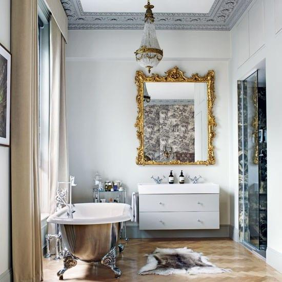 varakli lux banyo aynasi modeli