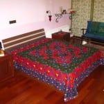 yatak ortulerinde etnik desen modasi
