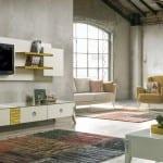 yazıcı mobilya modern tv unitesi modelleri