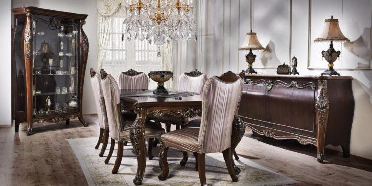 En Güzel 15 Klasik Tarz Yemek Odası Modeli
