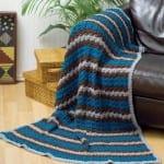 yeni moda orgu battaniye modelleri