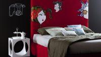 Yeni Trend 2015 Dekoratif Yatak Başı Modelleri