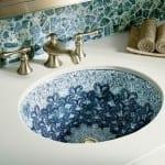 yeni trend lux banyo lavabolari