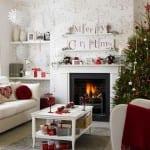 yeni yil ev dekorasyonu