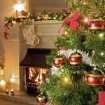 yeni yil ev dekoru