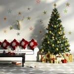 yeni yil temalı ev dekorasyon