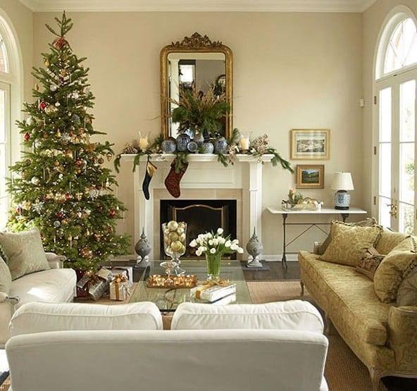 yilbasi ev dekorasyon fikirleri