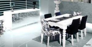 zebrano mobilya bella yemek odasi