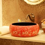 2015 dekoratif banyo lavabo modelleri