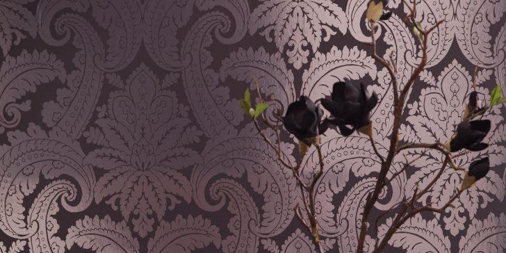 Vintage Tarzı Dekoratif Duvar Kağıdı Modelleri 2015