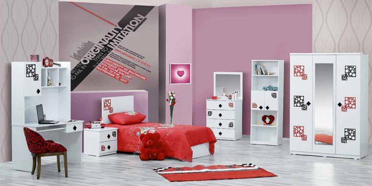 Özbay Mobilya Modern Genç Odası Modelleri 2015