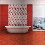 2015 renkli ve desenli banyo fayans modelleri