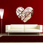 Dekoratif sticker Ayna Modelleri