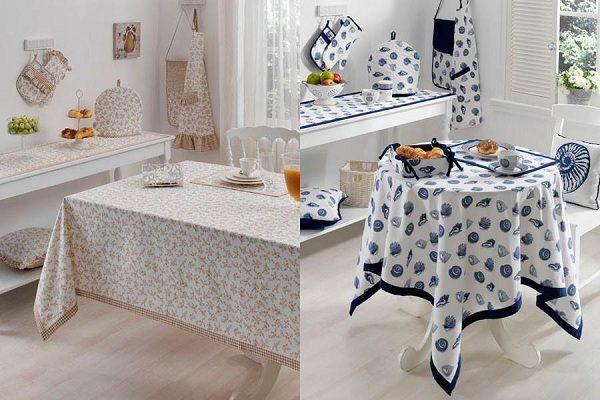 English Home Mutfak Masa ortusu modelleri 2015