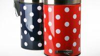 Mutfaklar İçin Rengarenk Dekoratif Çöp Kutuları 2015